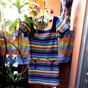 Johnny Martin Designer Midi Dress